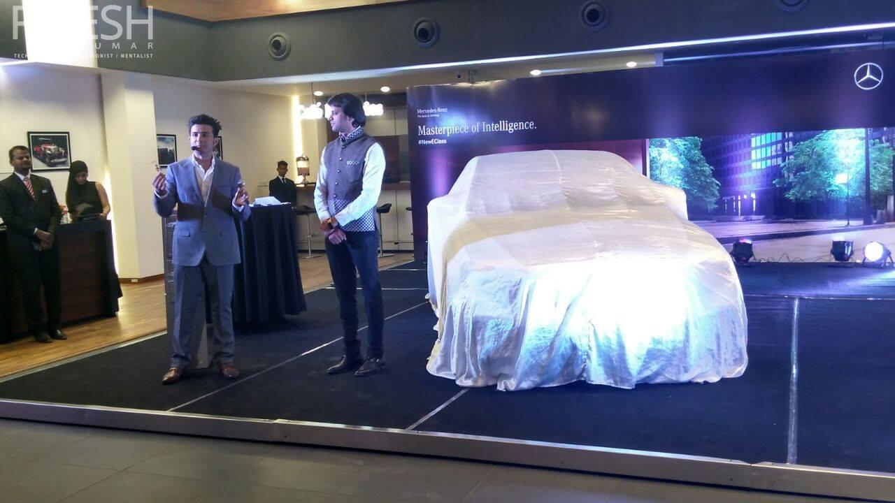 Illusionist I magician I Rajesh kumar performed at launch of Mercedes benz Eclass 2017 at nagpur