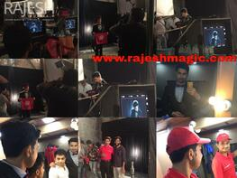 Magician /illusionist in mumbai Rajesh kumar pizza hut tv commercial