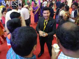Magician illusionist Rajesh kumar performed for shell in chennai