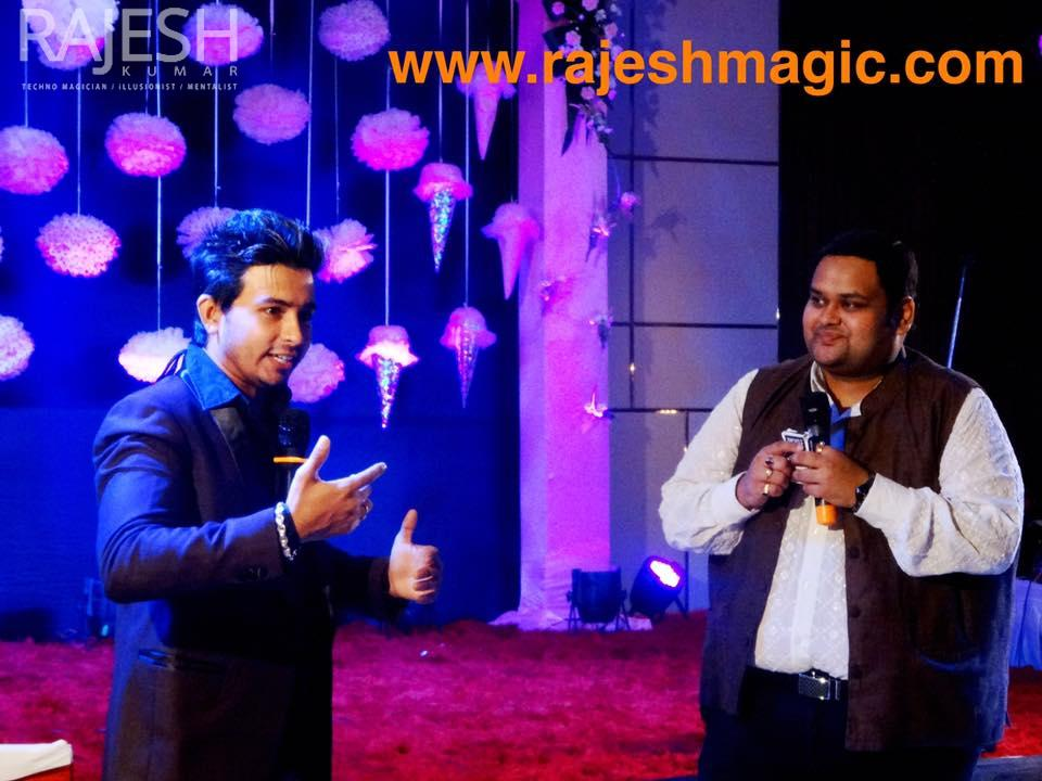 Rajesh kumar magic live in bilaspur